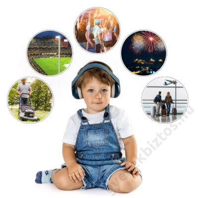 zajszűrős fejhallgató babáknak