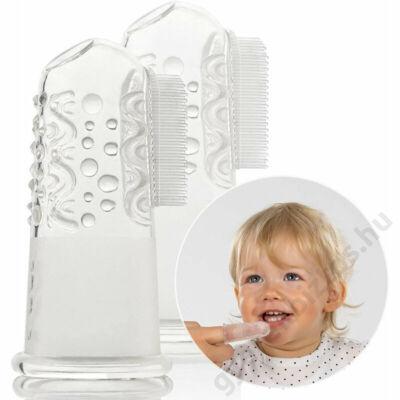 szilikonos baba fogkefe